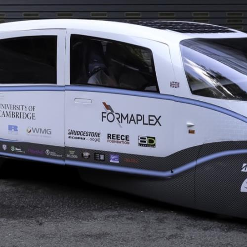 Cambridge students create the UK's most efficient solar-powered electric car