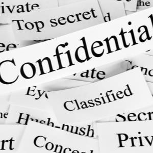 """Tricky Affair"" Portfolio Building - ACCOUNTABILITY - CODES AND CONFIDENTIALITY"